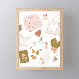 Girly stuff Framed Mini Art Print