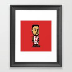 8-Bit: Scottie Pippen Framed Art Print