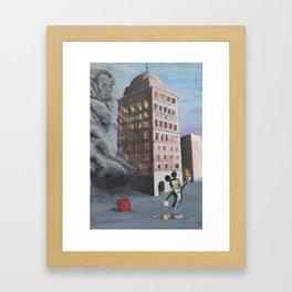 Bank of Babel Framed Art Print