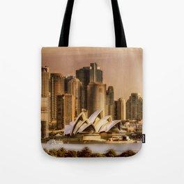 Sydney Cityscape Tote Bag