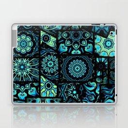 Patchwork in Blues Laptop & iPad Skin