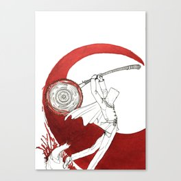 Master of the League Canvas Print