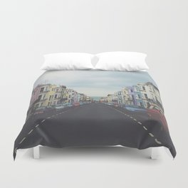 Brighton Houses Duvet Cover