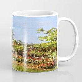 Monet : Garden in Bloom At Sainte-Addresse Coffee Mug