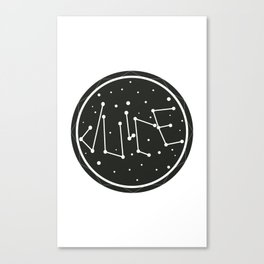 Juice Galaxy Canvas Print