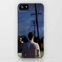 man out of time iPhone Case