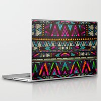coasters Laptop & iPad Skins featuring ▲HUIPIL▲ by Kris Tate