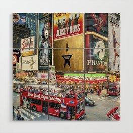 Times Square II Wood Wall Art