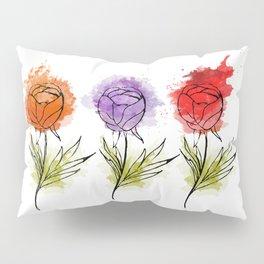 abstract flower 3 Pillow Sham