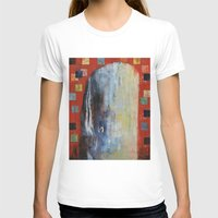 dick T-shirts featuring Moby Dick by Michael Creese