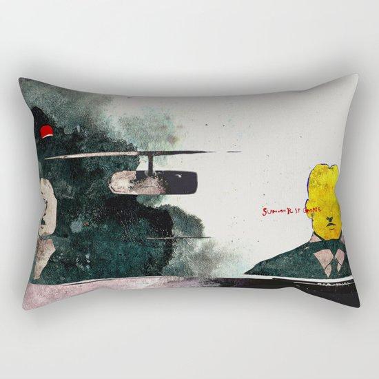 SUMMER IS GONE Rectangular Pillow