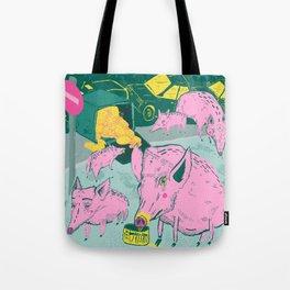 Pigggies Tote Bag