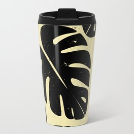 Monstera Leaf Print 2 Travel Mug