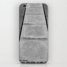 Timeline iPhone & iPod Skin