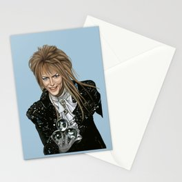 Goblin King Jareth Stationery Cards