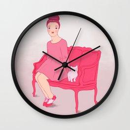 Fröken Saudade Wall Clock