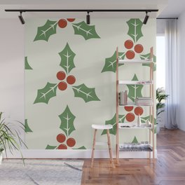 Holly Wall Mural