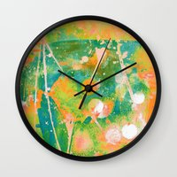 cocktail Wall Clocks featuring cocktail by clemm