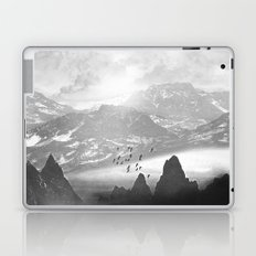 Black and White - Winter. Melody... Laptop & iPad Skin