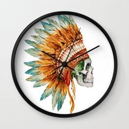 Skull 03 Wall Clock