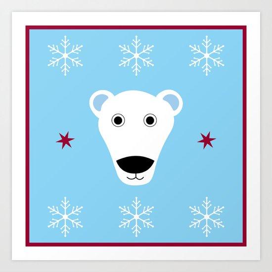 Polar Bear Art Print