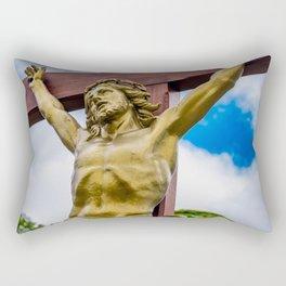 Crucifixion of Jesus Rectangular Pillow