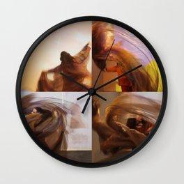 Wind Chimes Wall Clock