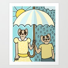 Rain or Shine Art Print