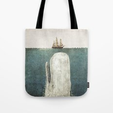 The Whale - vintage option Tote Bag