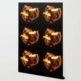 Fire Dancer Wallpaper
