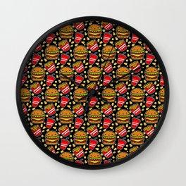 Fast Food II Wall Clock