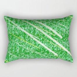 Green Streak Rectangular Pillow