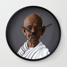 Celebrity Sunday ~ Mahatma Gandhi Wall Clock