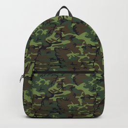U.S. Woodland Camo Backpack