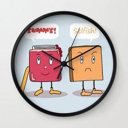 Sweet Couple Wall Clock