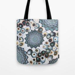 Ombre Succulents Tote Bag