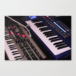 Syntheseizers (Free Music danalog1.bandcamp.com) Canvas Print