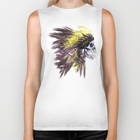 native american Biker Tanks featuring Native by @Subliminal_society