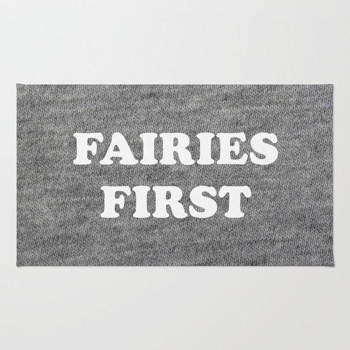 Fairies first Rug