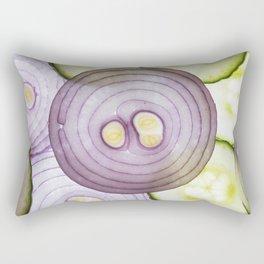 Food Art Rectangular Pillow