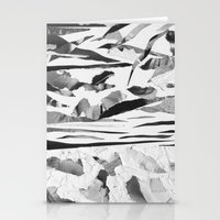 sand Stationery Cards featuring Sand  by Jihan Mv