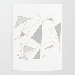 Duo of Triangles Poster