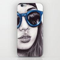 coachella iPhone & iPod Skins featuring Coachella  by Bella Harris