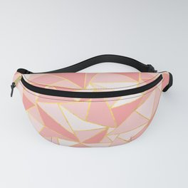 Ab Out Blush Gold Fanny Pack