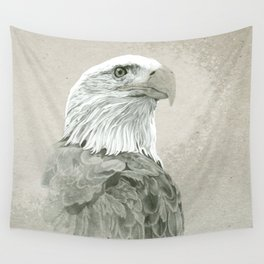 Bald Eagle Majestic Wall Tapestry