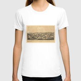 View of San Francisco, California: taken from Telegraph Hill, April 1850 T-shirt