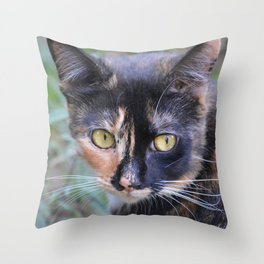 I used to be cute Throw Pillow