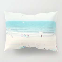 beach - happy life Pillow Sham