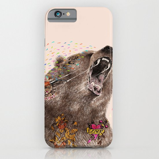 Angry Bear II iPhone & iPod Case