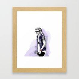 Cool niall Framed Art Print